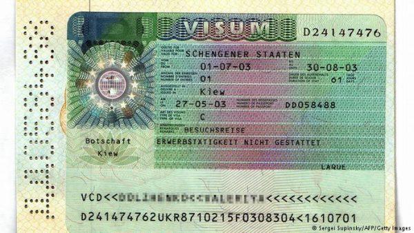 فيزا شنجن المانيا