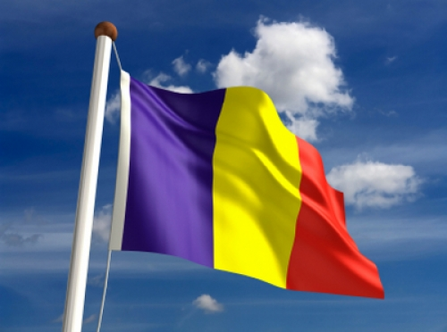 علم رومانيا