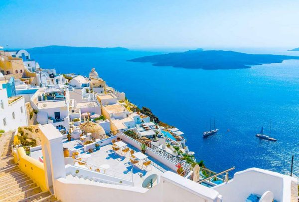 إحدى جزر اليونان