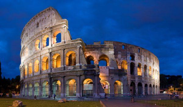 المدرج الرومانى