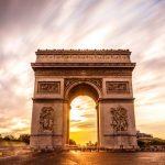 قوس النصر الأكثر شهرة فى باريس