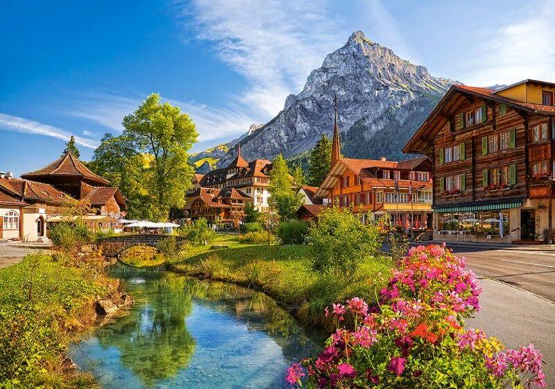 كم تكلفة السفر لسويسرا ؟