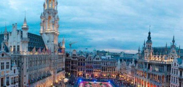موقع بلجيكا