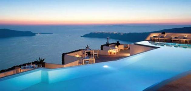 Photo of جزيرة سانتوريني  من أجمل الجزر السياحية فى العالم