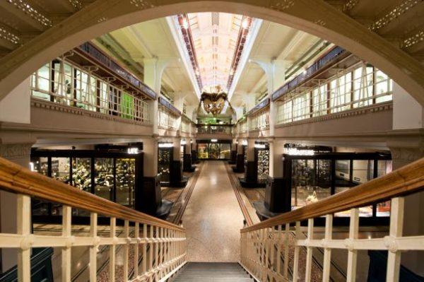التصميم المعمارى لمدينة مانشستر