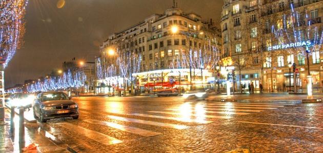 Photo of شارع الشانزليزيه من أرقى الشوارع فى باريس