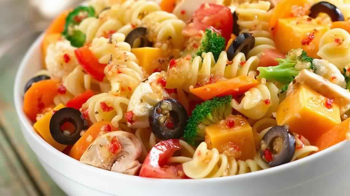 اكلات ايطالية مكرونات