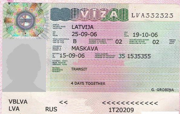 فيزا لاتفيا