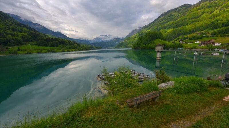 Photo of وادي لوتربرونن أحد المناطق السياحية الجذابة فى سويسرا