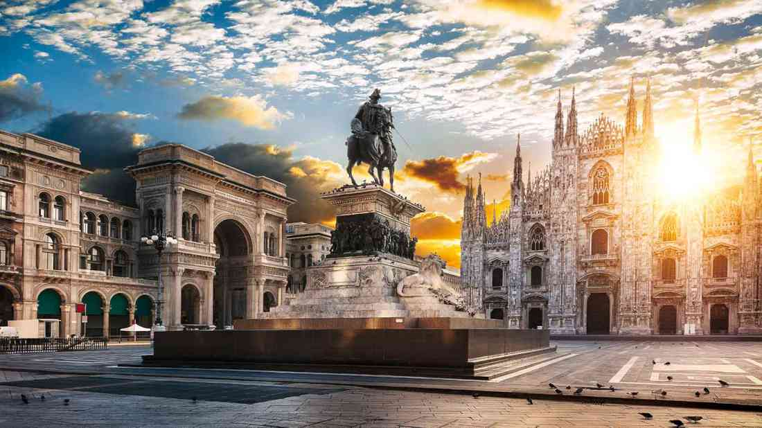 السياحة فى ميلانو