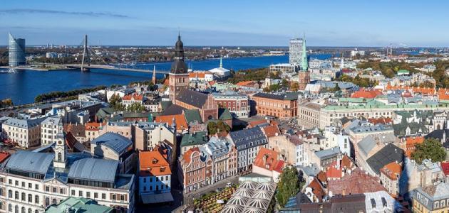 مدينة لاتفيا