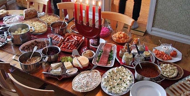 اكلات من المطبخ السويدي