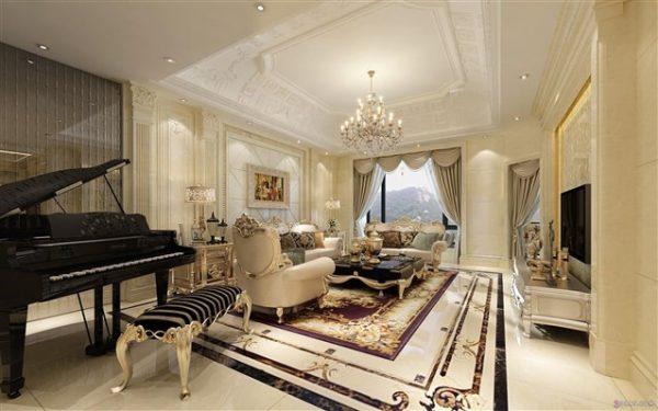 صالة إستقبال فندق بريستول عمان