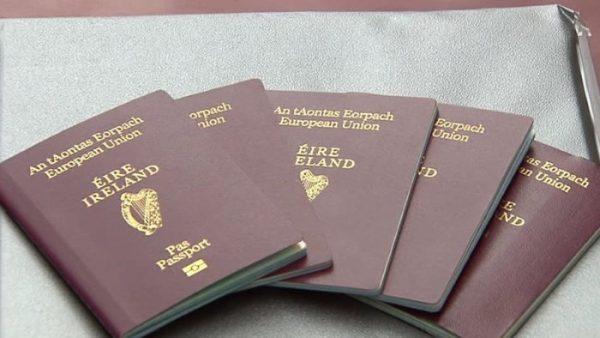 الجنسية الأيرلندية