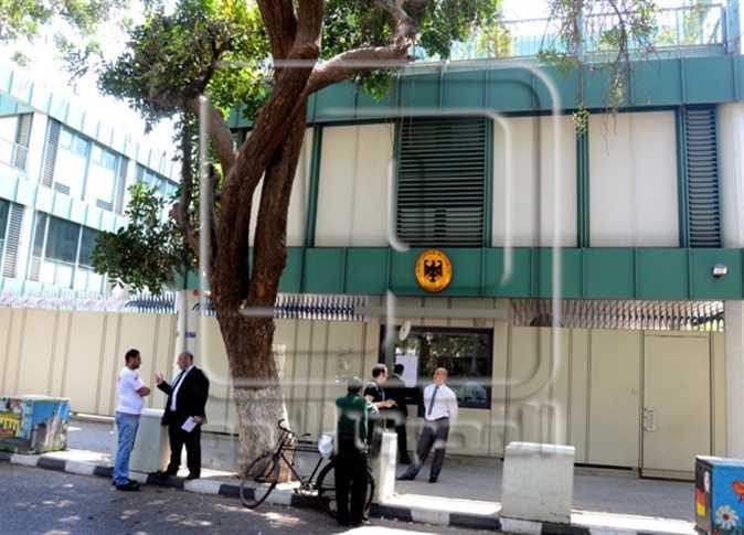 السفارة الالمانية بالقاهرة.