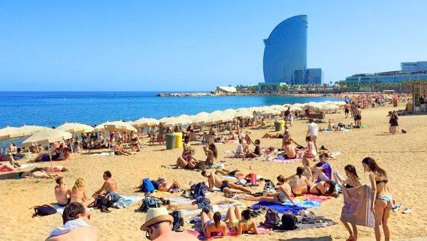 الشواطئ الأسبانية