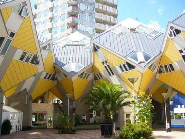 العمارة الحديثة في روتردام