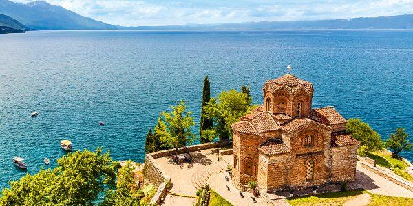 القلاع والآثار في مقدونيا