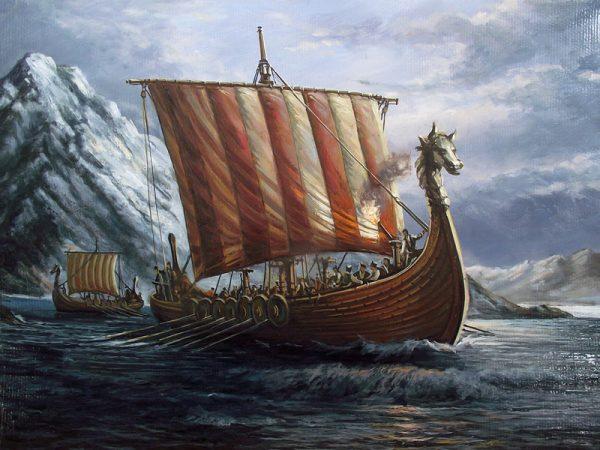 سفن الفايكنج النرويجية