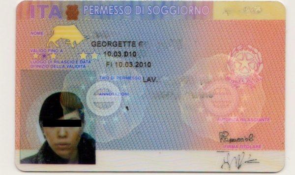 شروط تصريح الاقامة في ايطاليا