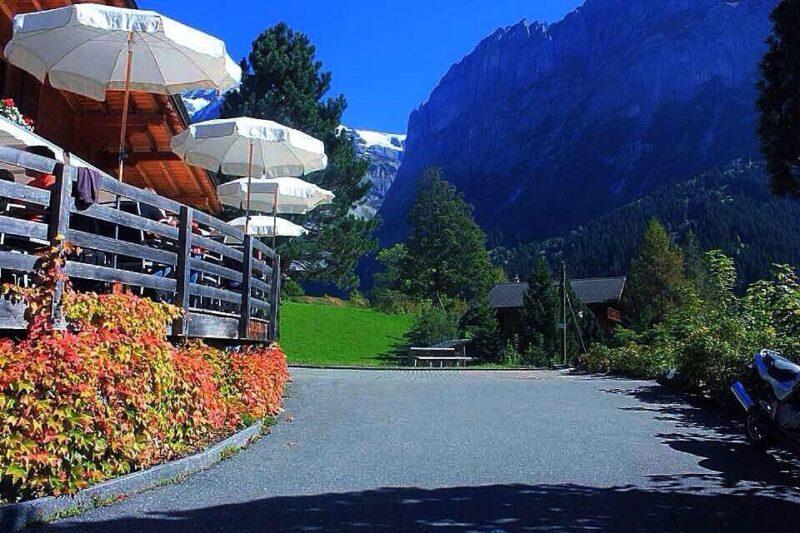 قرية جريندلوالد Grindelwald Village