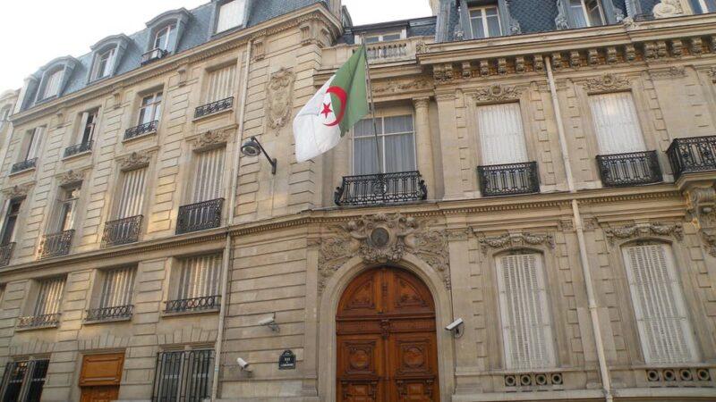 سفارة الجزائر في السويد