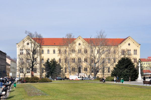 جامعة زغرب فى كرواتيا