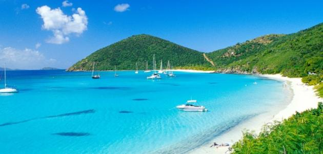 جزر العذراء البريطانية وأهم الأنشطة السياحية بها