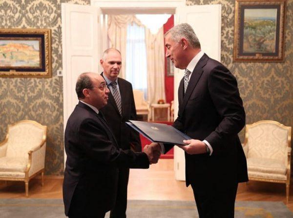 سعيد هندام سفير مصر بجمهورية الجبل الأسود
