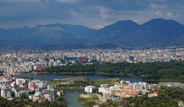 مدينة تيرانا العاصمة الالبانية الرائعه