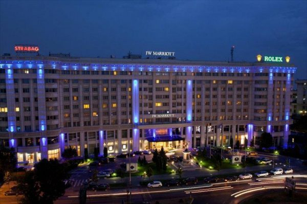 فندق جيه دابليو ماريوت بوخارست جراند هوتل
