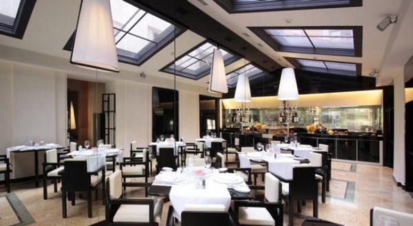المطعم فى فندق هاسلر روما