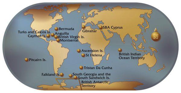 تعرف على اقاليم ماوراء البحار البريطانية