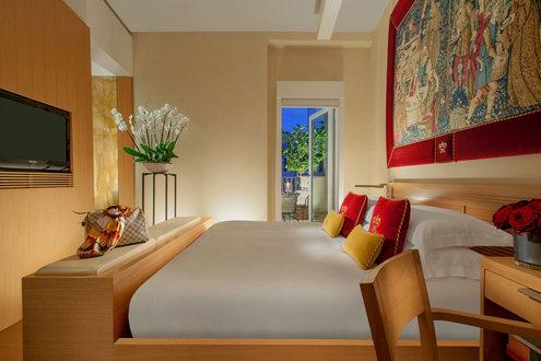 صورة لأحد الغرف بفندق رافابيل