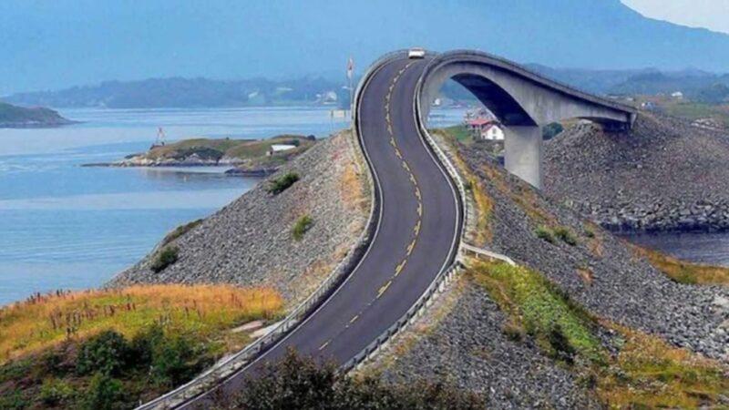 Photo of طريق النرويج على المحيط الاطلسي
