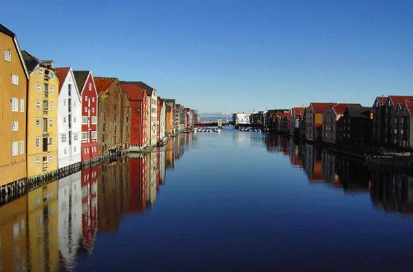 مدينة تروندهايم النرويجية الأكثر شهرة