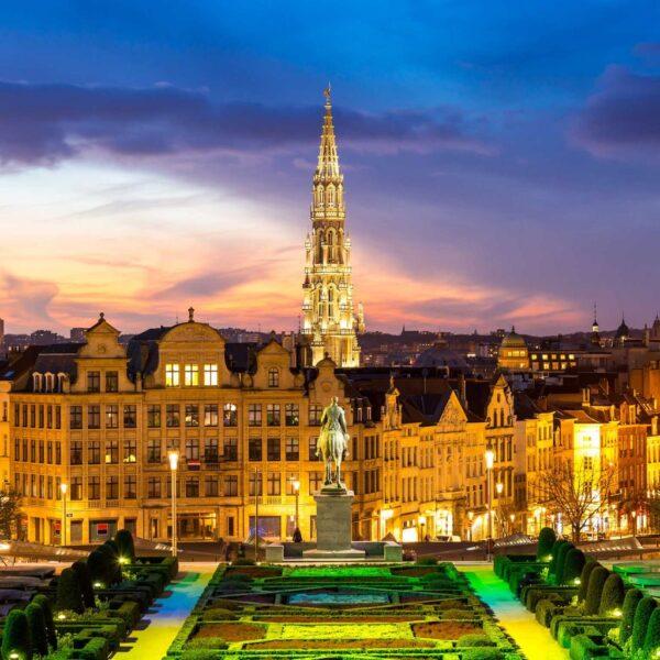 الأماكن السياحية في بلجيكا