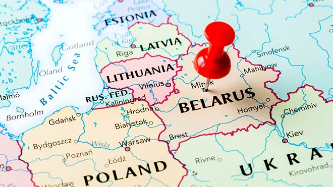 السفر الى بيلاروسيا من الجزائر
