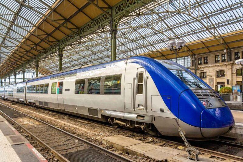 قطارات باريس برشلونة