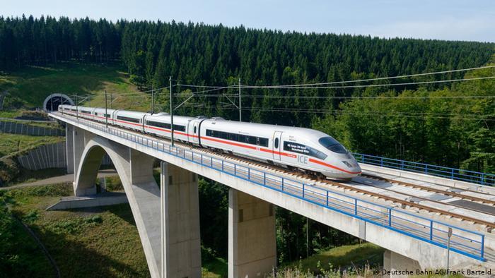 قطار من برلين الى فرانكفورت