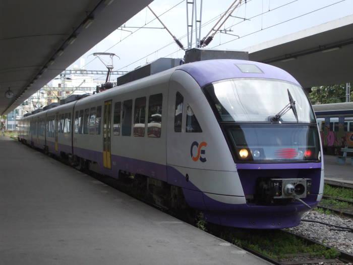 قطار OSE من أثينا