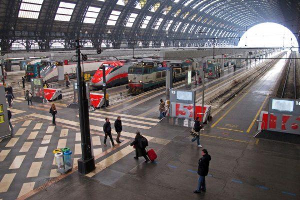 محطة قطارات روما