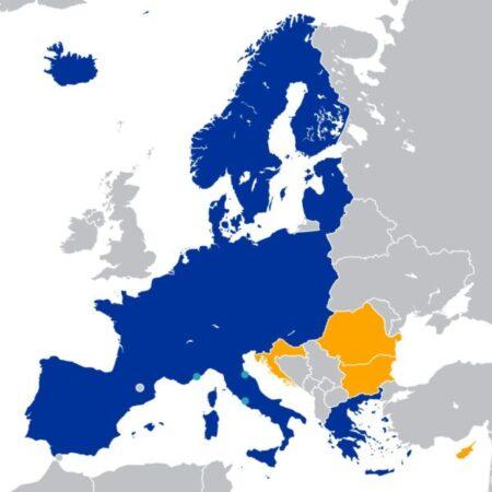 هل كرواتيا من دول الشنغن ؟
