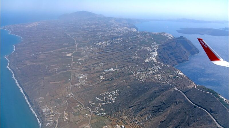 Photo of طيران من اثينا الى سانتوريني … سرعة الوصول