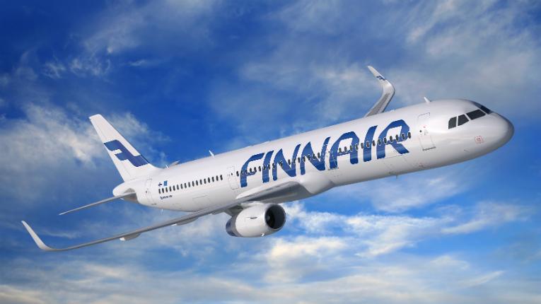 طيران من فنلندا إلي بغداد