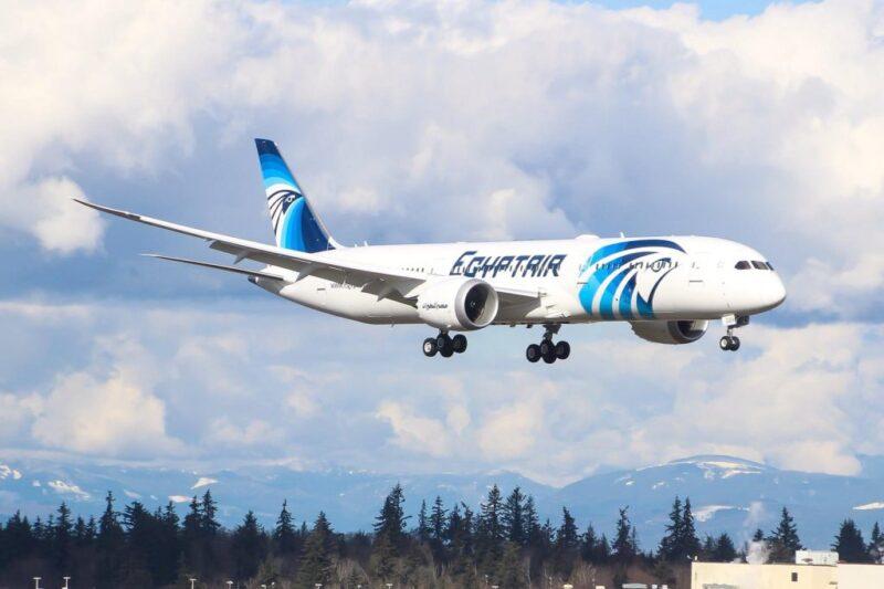 طيران من فنلندا إلي مصر