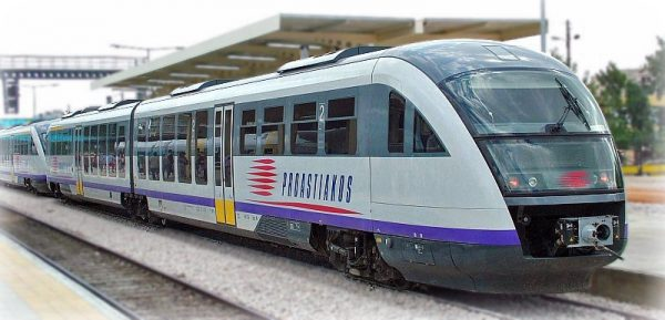 قطار سالونيك الجديد