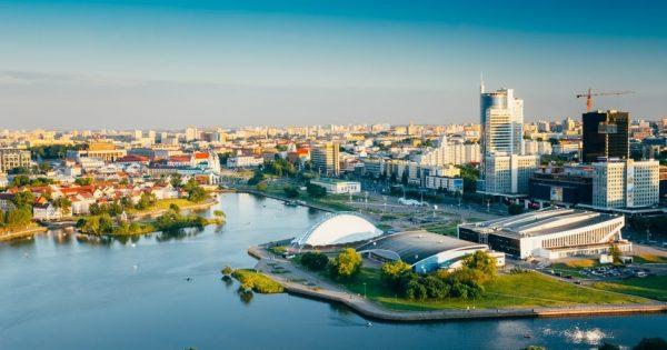 مدينة مينسك عاصمة بيلاروسيا الرائعه