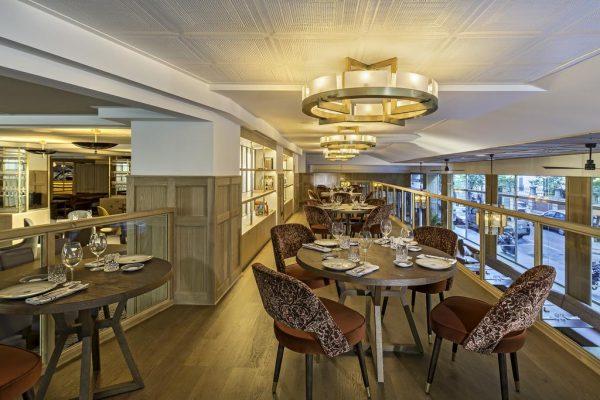 مطعم فندق إن إتش كوليكشن مدريد سيوسيا