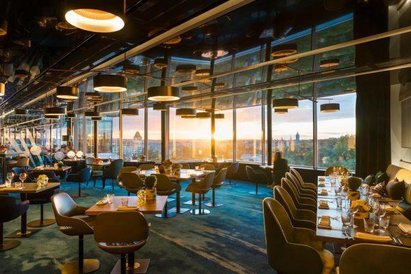 مطعم فندق سوفيتل لوكسمبورغ ليه غراند دوكال